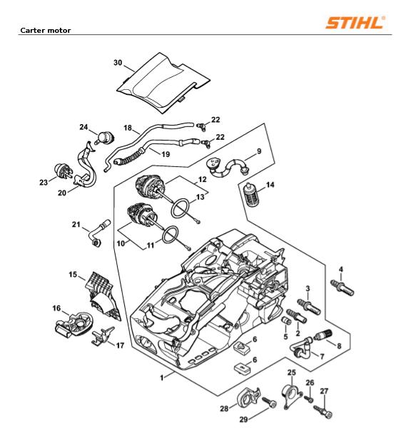 Carter Motor Stihl MS 193