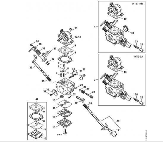 Carburator STIHL MS 311