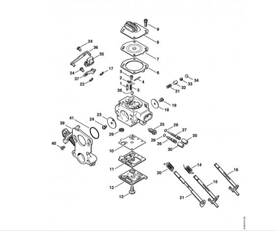 Carburator STIHL MS 441