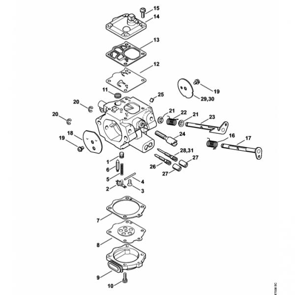 Carburator Stihl MS 880