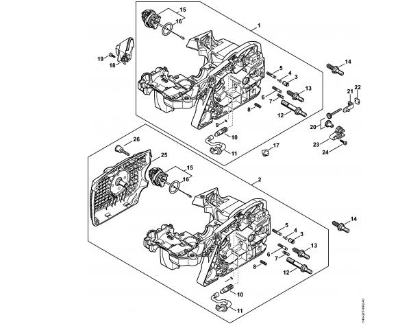 Carter motor STIHL MS 391
