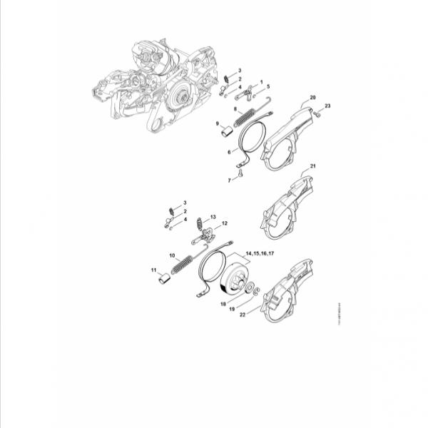 Frana lant Stihl MS 261