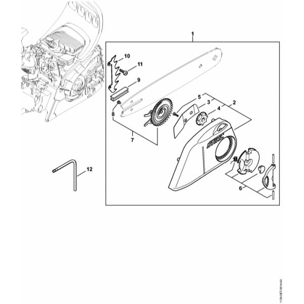 Intidere lant Stihl MS 211