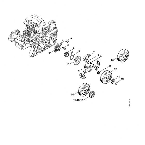 Pompa Ulei Stihl MS 231